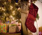 Weihnachtssocke hing