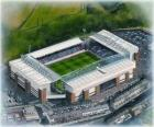 Stadion von Blackburn Rovers F.C. - Ewood Park -