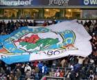 Flagge von Blackburn Rovers F.C.