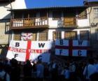 Flagge von Bolton Wanderers F.C.
