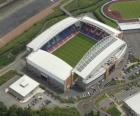 Stadion von Wigan Athletic F.C. - The DW Stadium -