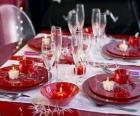 Esstisch für Weihnachten