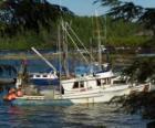 Kleines Boot Fischer