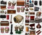 Instrumente unterschiedlich