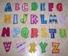 Großbuchstaben, alphabet