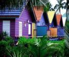 Häuser Farben, Bahamas