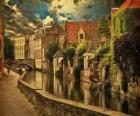 Historisches Stadtzentrum von Brügge, Belgien
