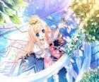 Princess, Liebhaber von Tieren und Blumen