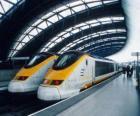 Eurostar-Hochgeschwindigkeitszug