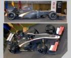 Aerial Seitenansicht und F1 HRT