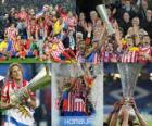 Atletico Madrid Champion, Europa League 2009/10