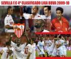 Sevilla FC 4 Classified Liga BBVA 2009-2010
