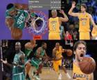 NBA Finals 2009-10, Spiel 1, Boston Celtics 89 - Los Angeles Lakers 102