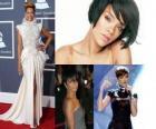 Collage von Rihanna