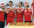 29. Jahrestag von Fernando Alonso bei den Grand Prix von Ungarn 2010