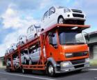 LKW Transport von Autos