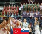 Türkei - Slowenien, Viertelfinale, 2010 FIBA World Türkei