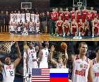 Vereinigte Staaten - Russland, Viertelfinale, 2010 FIBA World Türkei