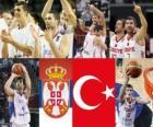 Serbien - Türkei, Halve Finale, 2010 FIBA World Türkei