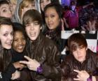 Justin Bieber mit ihren Fans