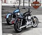 Zwei Harley-davidson