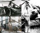 Juan de la Cierva y Codorniu (1895 - 1936) erfand den Tragschrauber, Vorläufer des heutigen Hubschraubers Einheit.