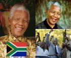 Nelson Mandela in seinem Land als Madiba bekannt, war der erste demokratisch gewählte Präsident Südafrikas nach allgemeinem Wahlrecht.