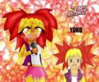 Yoko ist ein Mädchen von 15 Jahren, ein Pop-Liebhaber zu singen gerne Karaoke