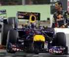 Mark Webber - Red Bull - Singapur 2010 (3. Platz)