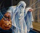 Ein Halloween-Gespenst