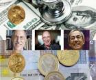 Nobelpreis für Wirtschaftswissenschaften 2010 - Peter A. Diamond, Dale T. Mortensen und Christopher A. Pissarides -
