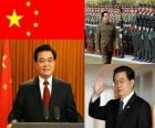 Hu Jintao Generalsekretär der Kommunistischen Partei Chinas und Präsident der VR China