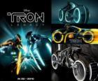 Tron Legacy und fantastischen Fahrzeugen