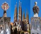 Sühnekirche der Heiligen Familie - Sagrada Família - Barcelona, Spanien.