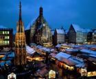 Christkindlmarkt Nürnberg Bayern Deutschland
