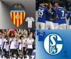 UEFA Champions League Achtelfinale von 2010-11, Valencia CF - FC Schalke 04