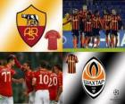 UEFA Champions League Achtelfinale von 2010-11, AS Roma - Shakhtar Donetsk