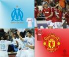 UEFA Champions League Achtelfinale von 2010-11, Olympique de Marseille - Manchester United