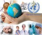 Weltgesundheitstag, zum Gedenken an die Gründung der WHO auf 7. April 1948