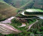Landschaft des ländlichen China