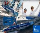 Virbac-Paprec 3 die Sieger des Barcelona World Race 2010-11