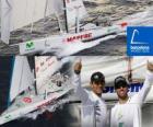 Die Mapfre Sekunde in das Barcelona World Race 2010-11