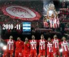 FC Olympiakos, der griechischen Liga Champion 2010-11