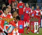 UEFA Europa League 2010-11 Halbfinale Benfica - Braga