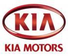 Logo von KIA Motors, südkoreanische Automobilhersteller