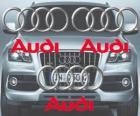 Audi-Logo, deutsche Automarke