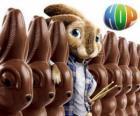 Das Kaninchen EB gelingen sollte seinem Vater als der Osterhase. Hop Osterhase oder Superstar?