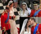 British Royal Wedding zwischen Prinz William und Kate Middleton, einmal verheiratet