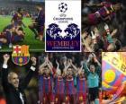 Fc Barcelona qualifizierte sich für das Finale der UEFA Champions League 2010-11