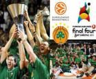 Panathinaikos, PAO, meister der 2011 Euroleague Basketball